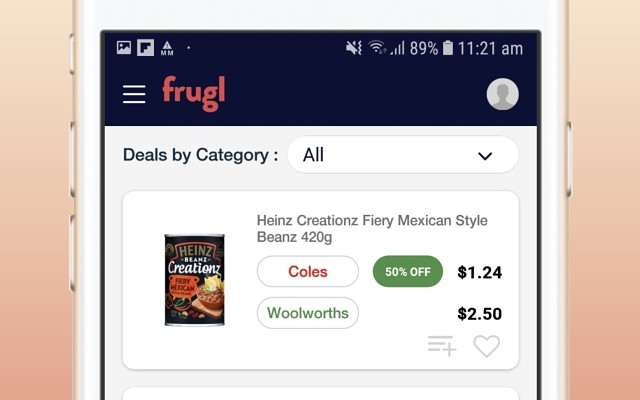 Frugl Grocery Comparison App Family Insights Group ASX FAM Apple Android